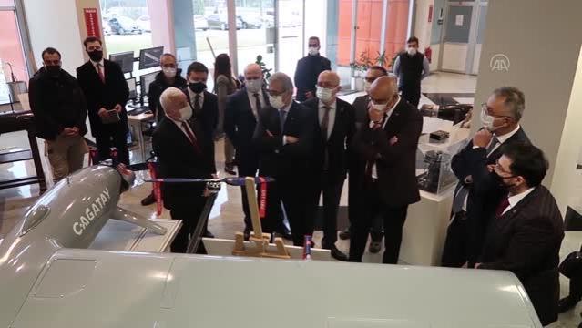 ESKİŞEHİR - Cumhurbaşkanlığı Savunma Sanayii Başkanı Demir, Eskişehir'de bazı tesisleri ziyaret etti