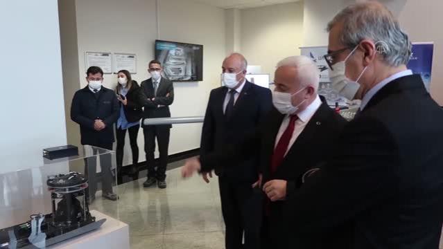 ESKİŞEHİR – Cumhurbaşkanlığı Savunma Sanayii Başkanı Demir, Eskişehir'de bazı tesisleri ziyaret etti