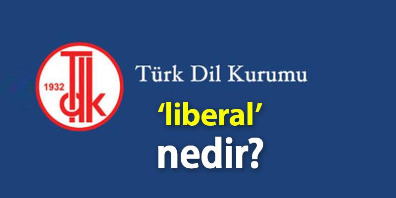 Liberal Ne Demek? Tdk'ya Göre Liberal Kelime Anlamı Nedir, Kimlere Denir?