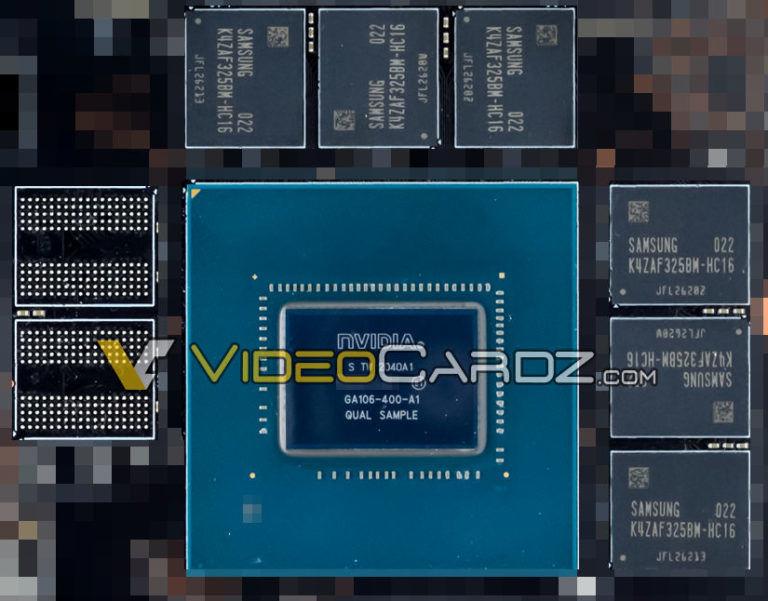 NVIDIA'nın Ampere mimarili GA106 yongası ilk kez görüntülendi